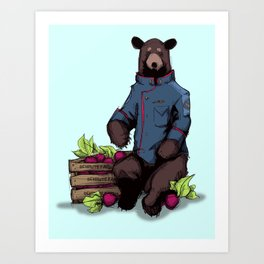 Bears, Beets, Battlestar Galactica Kunstdrucke
