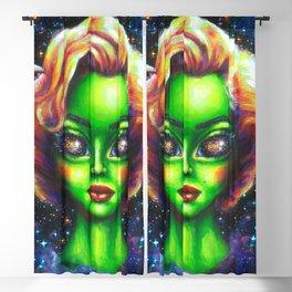 Iconic Alien Women: Marilyn Blackout Curtain