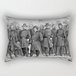 Union Generals of The Civil War Rectangular Pillow