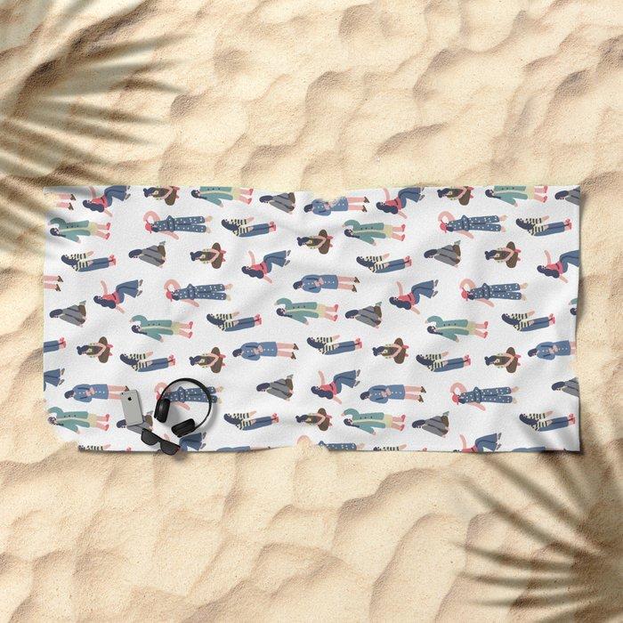 Slow Fashion Beach Towel