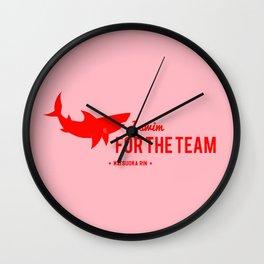FOR THE TEAM - Matsuoka Rin Wall Clock