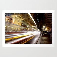 Portland Lights Art Print