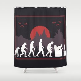 Gaming Evolution Shower Curtain