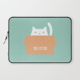 This is My Box Laptop Sleeve