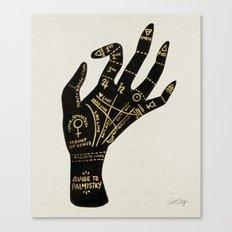 Palmistry Canvas Print