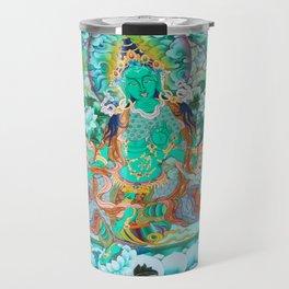 Green Tara Travel Mug