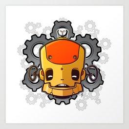 Brass Munki - Bot015 Art Print