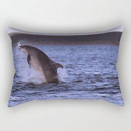 Caught one Rectangular Pillow