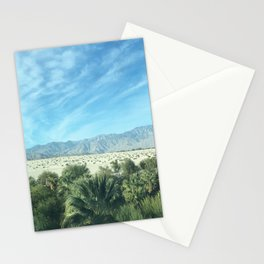 Palm Springs Mountains-California Desert Stationery Cards