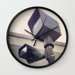 Nonhuman Traffic Cop Wall Clock