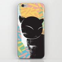 memphis iPhone & iPod Skins featuring Memphis Cat by kelsosullivan