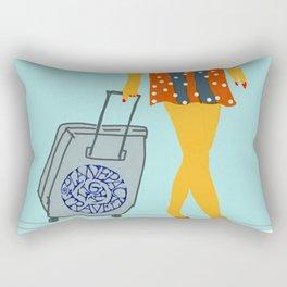 Carry on Rectangular Pillow
