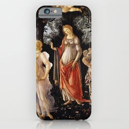 Primavera, Botticelli iPhone Case