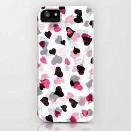 Raining love iPhone Case