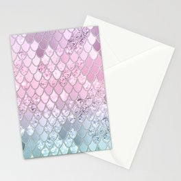 Mermaid Glitter Scales #2 #shiny #decor #art #society6 Stationery Cards