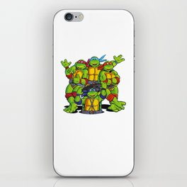 Teenage Mutant - Ninja Turtle iPhone Skin