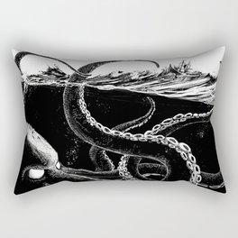 Kraken Rules the Sea Rectangular Pillow