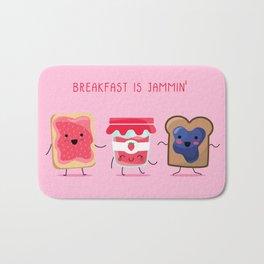 Breakfast Is Jammin' Bath Mat