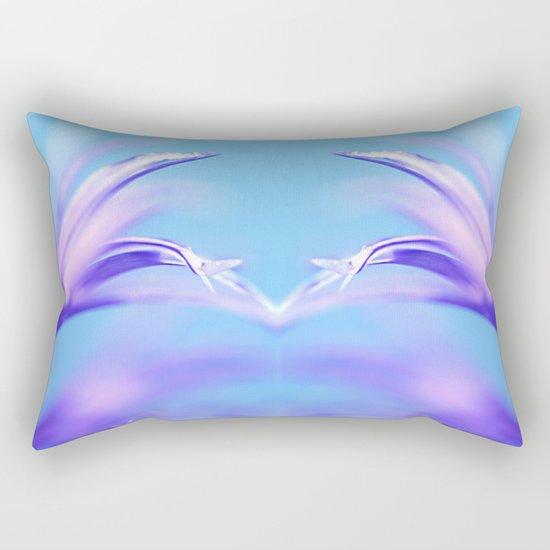 flower dance III Rectangular Pillow