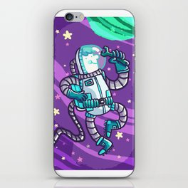 space guy iPhone Skin