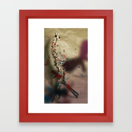 Your Vibe Attracts Your Tribe Framed Art Print