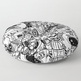 Dark Matter Space Machine Floor Pillow