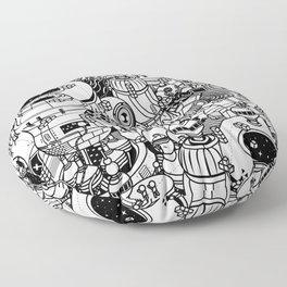 Dark Matter Space Machine Floor Pillow