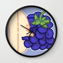 Harmonious Sandwich Wall Clock