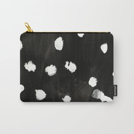 Black and White Splash Carry-All Pouch