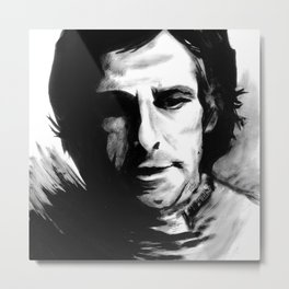 DARK COMEDIANS: Ben Stiller Metal Print