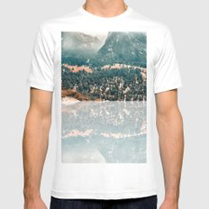 Yosemite Valley - Fall Colors Mens Fitted Tee White MEDIUM