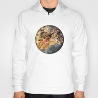 mineral Hoodies featuring Mineral planet-3: cacoxene. by Gaspar Garijo