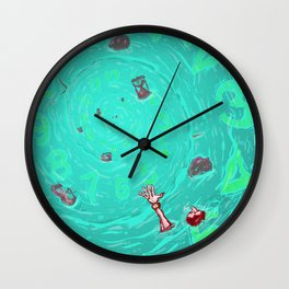 Drown in the now Wall Clock