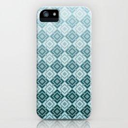 Geometric , gradient 2 iPhone Case