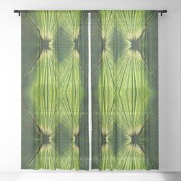 Palmetto Prism Sheer Curtain