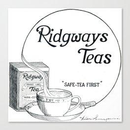 Ridgway Teas Canvas Print