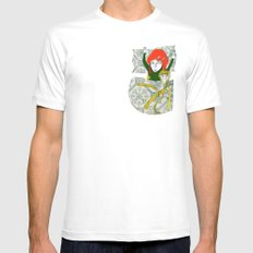 Tina&Ape SMALL White Mens Fitted Tee