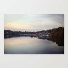 Boat House Row, Philadelphia Canvas Print