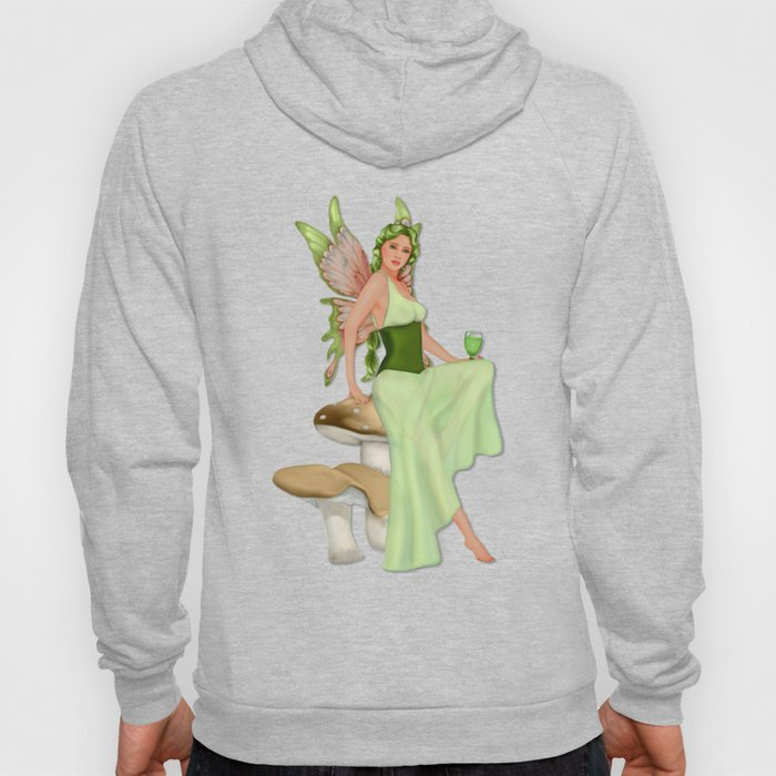 Absinthe the Green Fairy Hoody