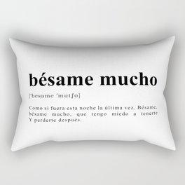 Bésame mucho Rectangular Pillow