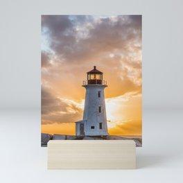 Peggys sunset Mini Art Print