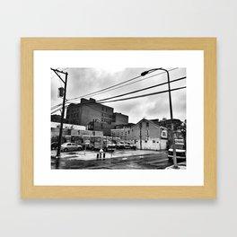 David Lynch's 13th & Wood Framed Art Print