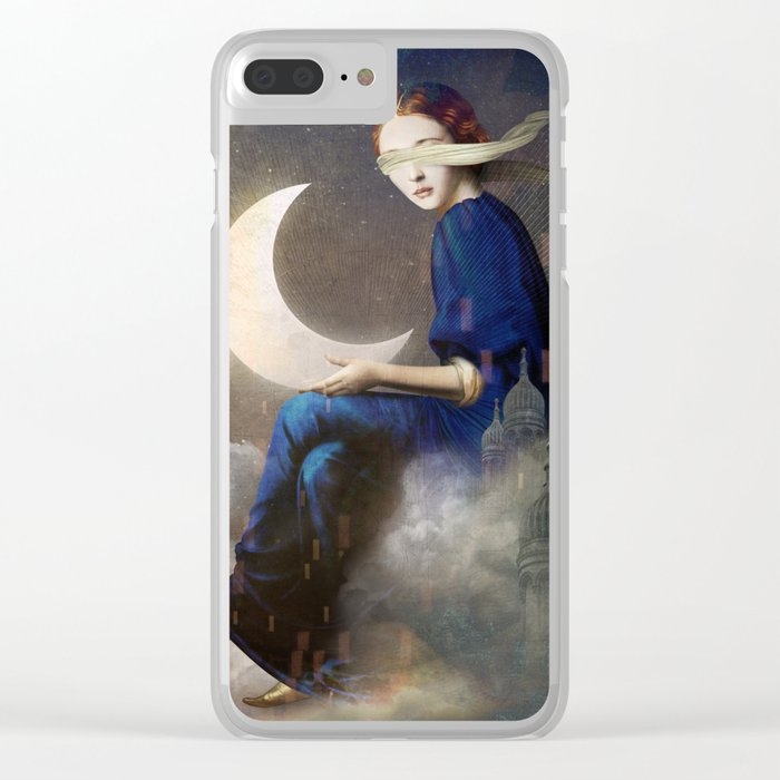 Kingdom of Clouds Clear iPhone Case