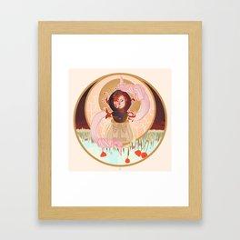 A Ghost Framed Art Print