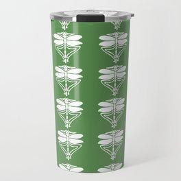 Glade Green Arts and Crafts Dragonflies Travel Mug