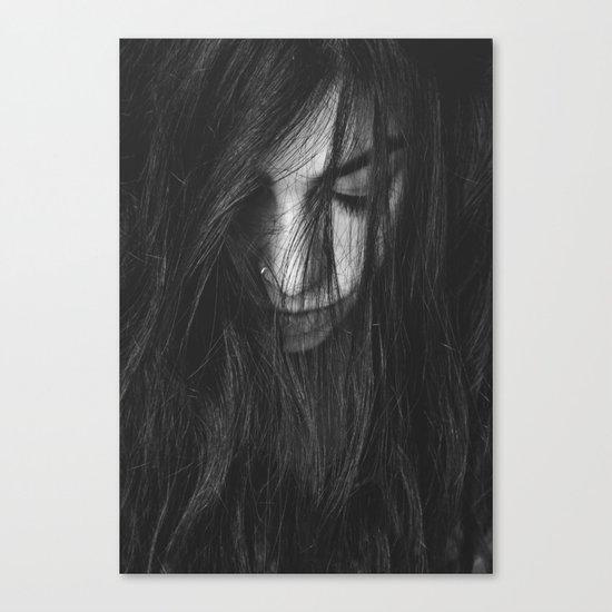 Dark Girl Canvas Print