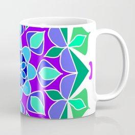 Mandala in blue and green colors Coffee Mug