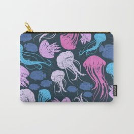 Underwater Pattern #3 Carry-All Pouch
