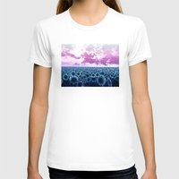 sunflowers T-shirts featuring sunflowers by Bekim ART