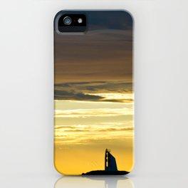 Sea sunset landscape iPhone Case